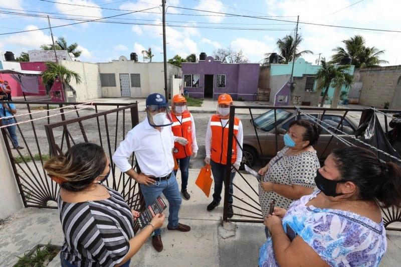 Mauricio Vila supervisa labor de programa «Amigos por la salud»