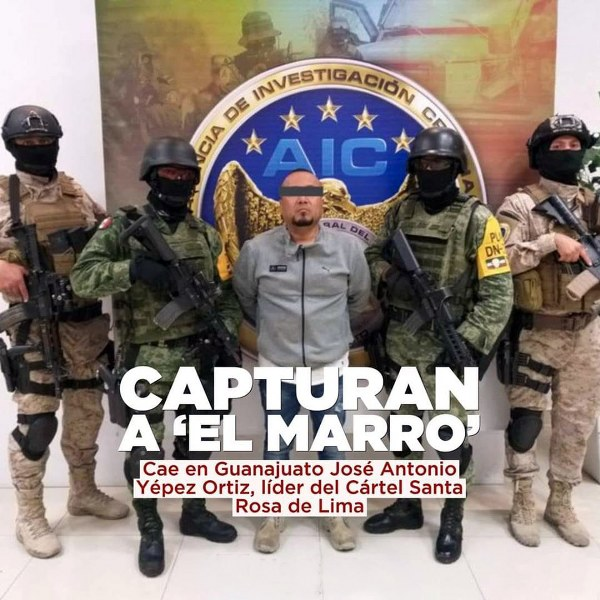 Detención de «El Marro», ejemplo de coordinación: Segob