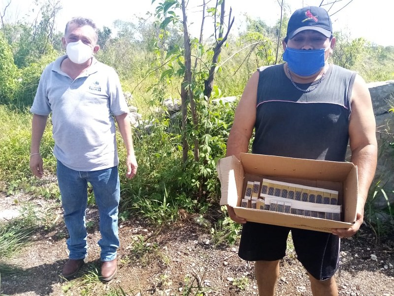 Con apoyo continuo, Gobierno del Estado respalda la apicultura