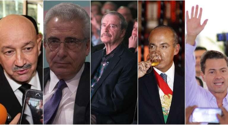 AMLO hace petición formal para enjuiciar a ex presidentes