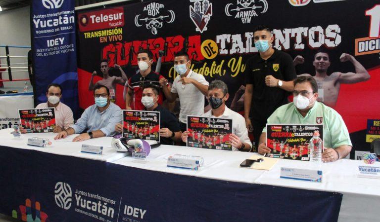 """Función de box en Valladolid: """"Guerra de talentos"""""""