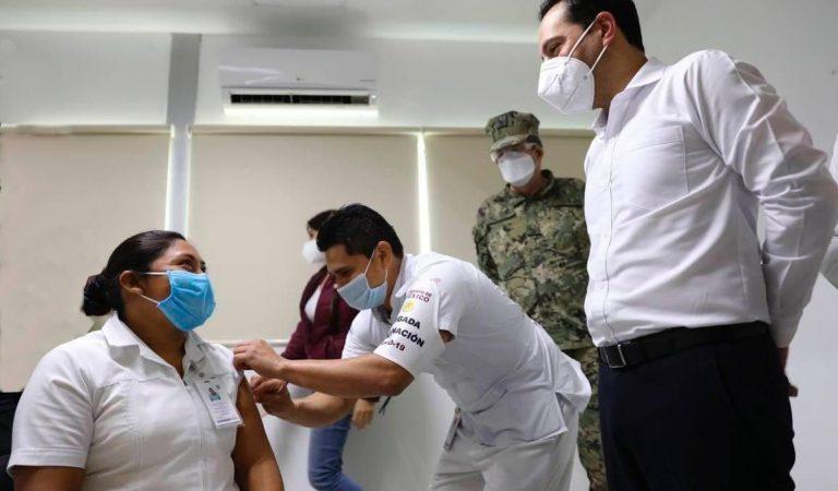 Aplicación de la vacuna es responsabilidad del gobierno federal: SSY