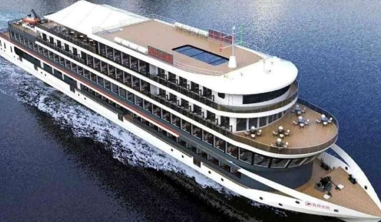 Una empresa China construye barco eléctrico más grande del mundo