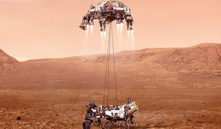 Perseverance amartizó con éxito en suelo marciano