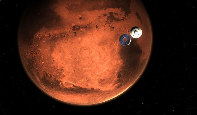El Perseverance tocará suelo marciano hoy jueves en busca de rastros de vida
