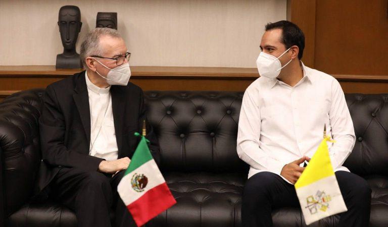El gobernador Mauricio Vila envió carta al Papa Francisco para que visite Yucatán
