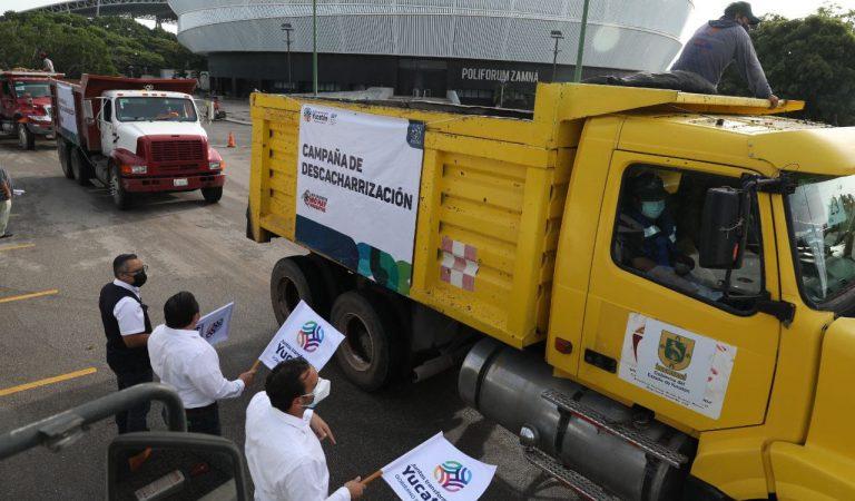 Arranca campaña de descacharrización en Mérida