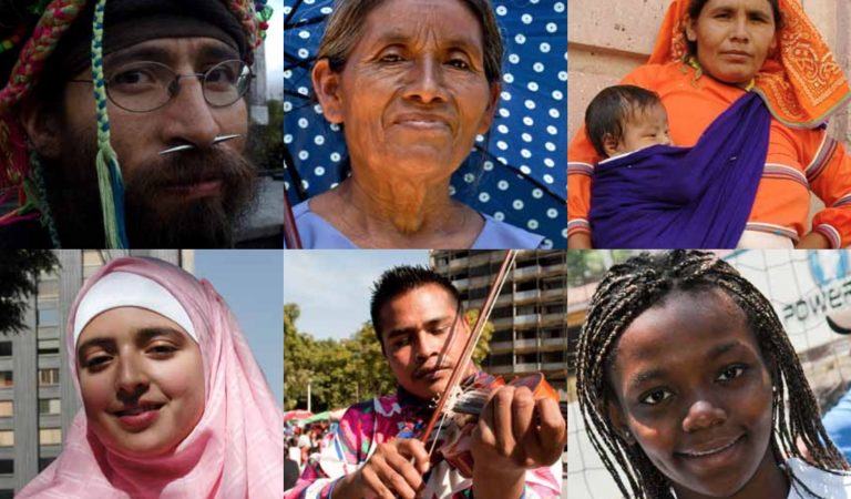 Vía y cruces de los derechos humanos