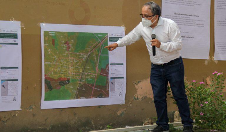 Programa Parcial de Desarrollo Urbano del Tren Maya en Maxcanú