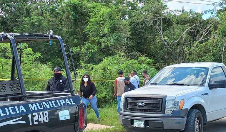 Encuentran cadáver enterrado en la Leona Vicario