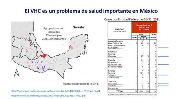 Yucatán entre las entidades del sureste con mayores índices de Hepatitis
