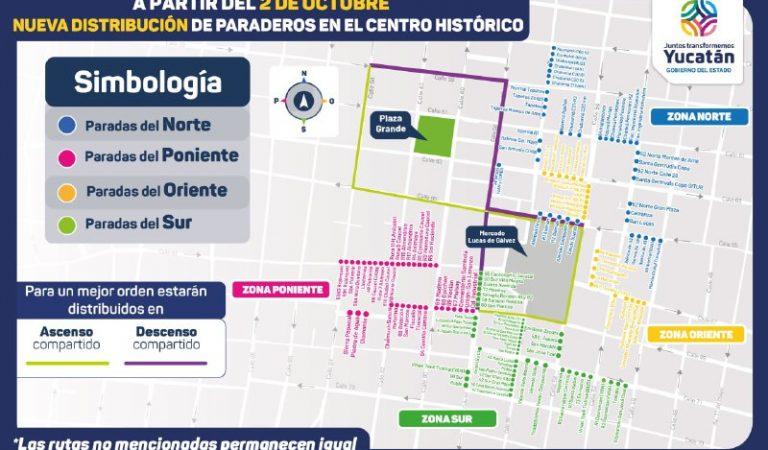 El 2 de octubre comienza el acercamiento de paraderos del transporte público