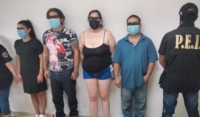 Detienen a 2 mujeres y 2  hombres por homicidio en el norte de Mérida
